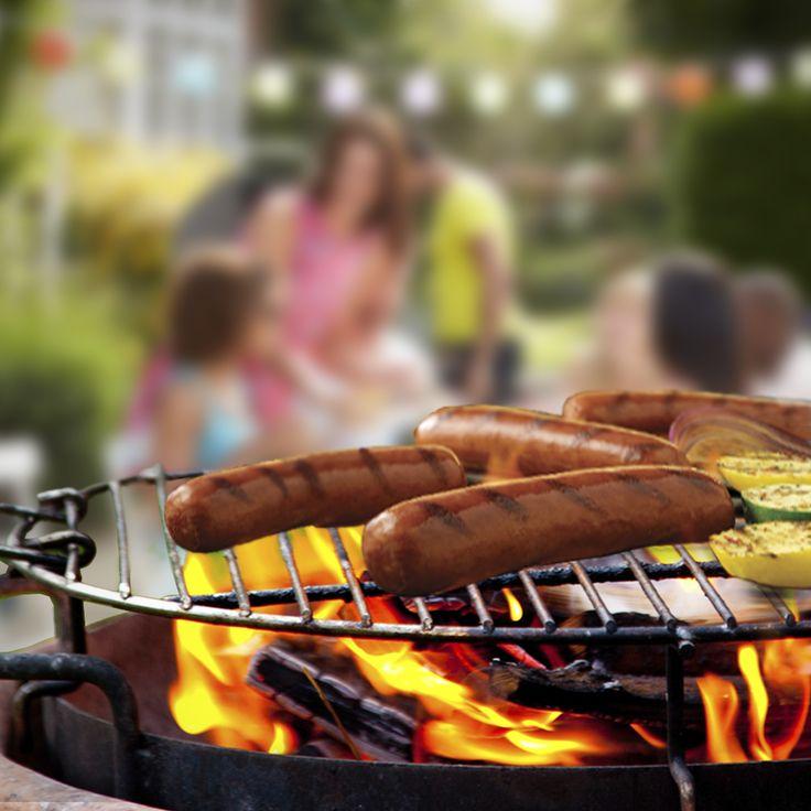 Johnsonville smoked sausage makes entertaining easy. #FireUpSummer