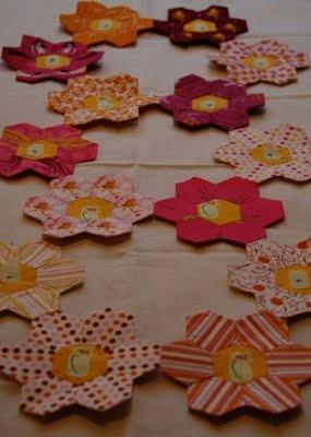 Heather Ross hexagons