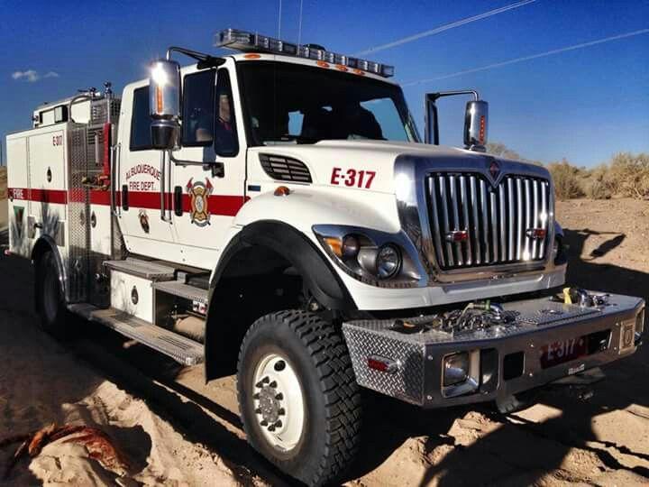 AFD wildland fire truck