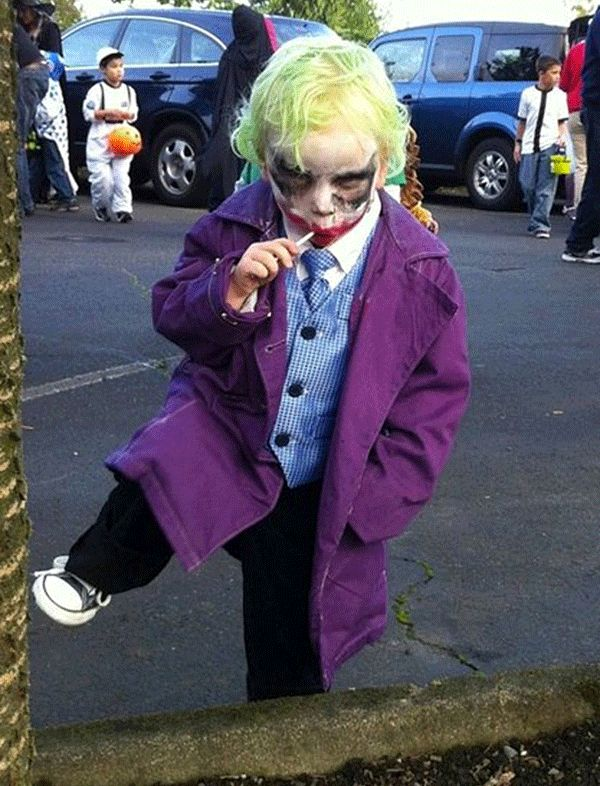 the 35 most awesome halloween costumes for kids based on movies and television - Joker Halloween Costume Kids