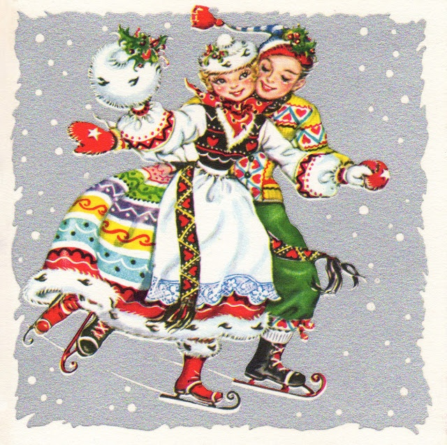 Two Crazy Crafters: Beautiful Vintage Christmas Cards