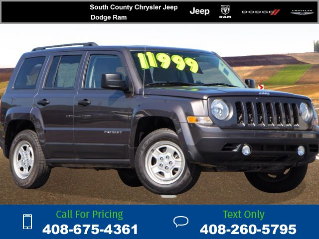 2015 Jeep Patriot Sport 11k miles Call for Price 11317 miles 408-675-4361 Transmission: Automatic  #Jeep #Patriot #used #cars #SouthCountyChryslerJeepDodge #Gilroy #CA #tapcars