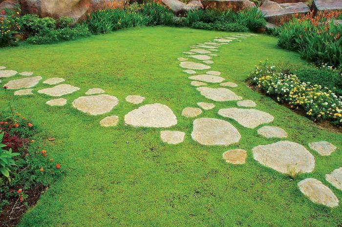 Оригинальное оформление дорожек в вашем саду