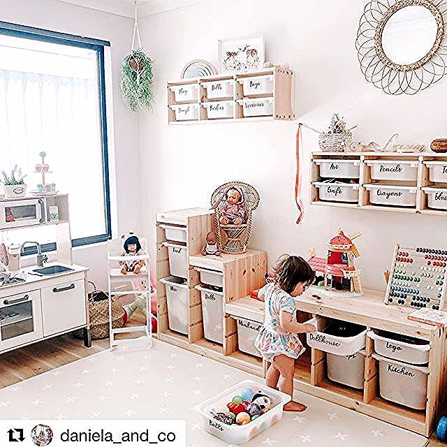 Ikea Playroom Organization