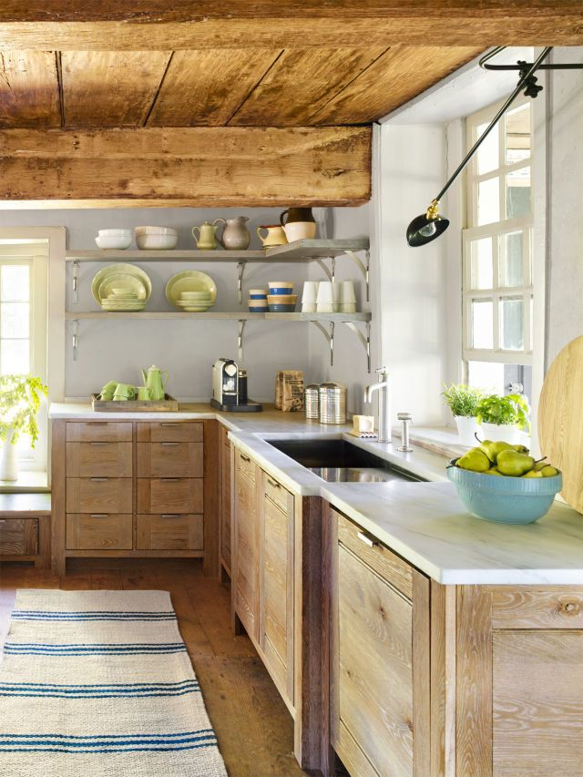 7 Ways This Kitchen Proves Quot Old Quot Is Better Open Shelving