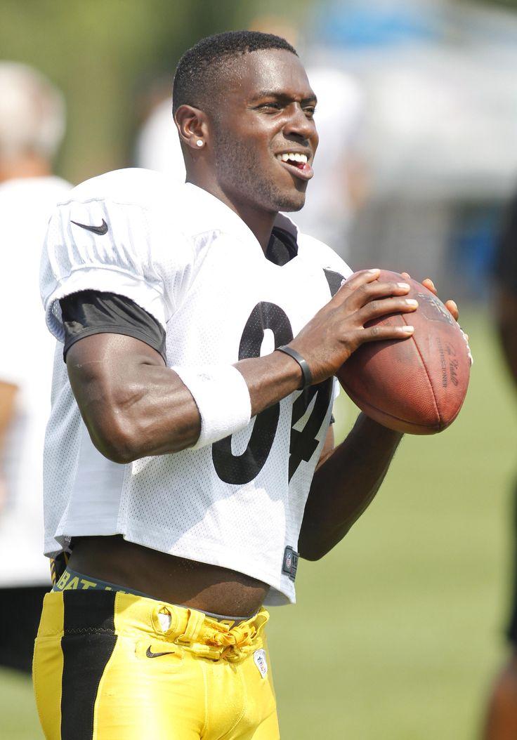 Pittsburgh Steelers wide receiver Antonio Brown ...