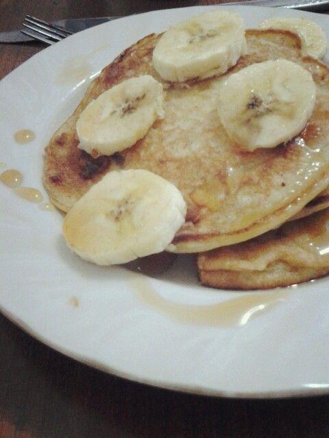 Banana Pancake by myself!
