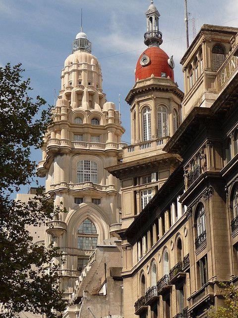 Cúpula de Edificio Barolo en Avenida de Mayo, Buenos Aires