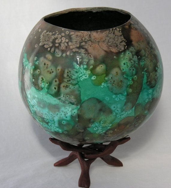 "Gourd Art - ""Almost Like Earth""."