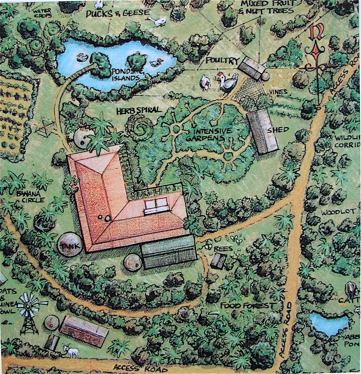 BAWC Week 6: Introduction to Permaculture by Bill Mollison ... My dream homestead.