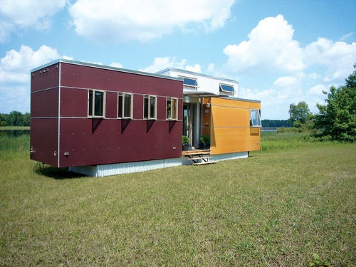 ravishing tiny trailer house. Andy Thomson s miniHome takes cues from the trailer park  it mobile but pushes a Tiny HousesPrefab 82 best Mobile homes modern style images on Pinterest Little