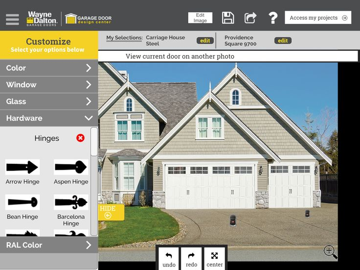 Check Out The Garage Door I Designed Using The Wayne Dalton App Garage Design Door Images House Styles