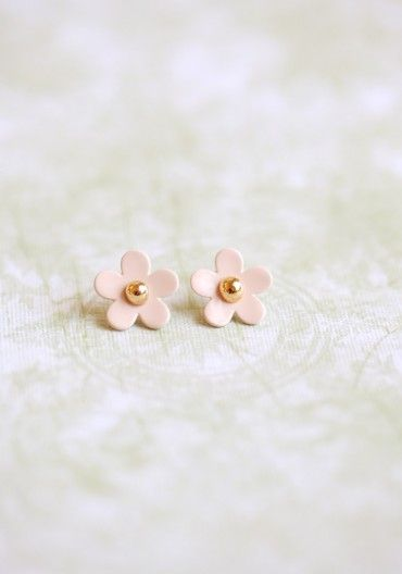 mini Marc Jacobs perfume flower earrings