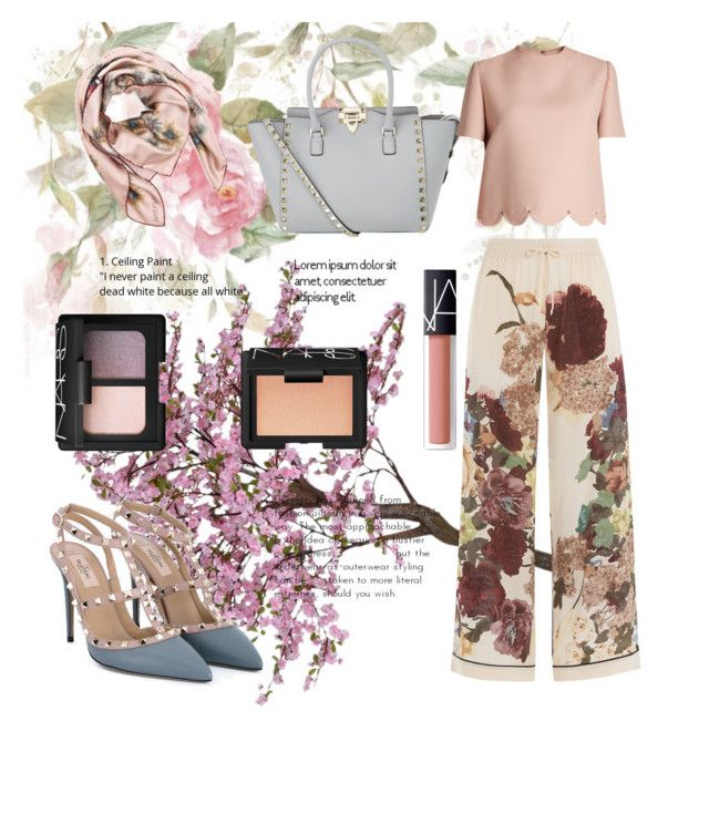 """""""Valentino"""" by spookie1 on Polyvore featuring Valentino and NARS Cosmetics"""
