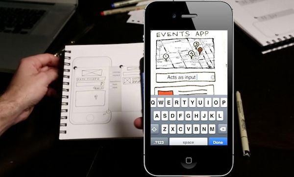 AppSeed is a clever app that automates transforming your sketches into functioning prototypes.