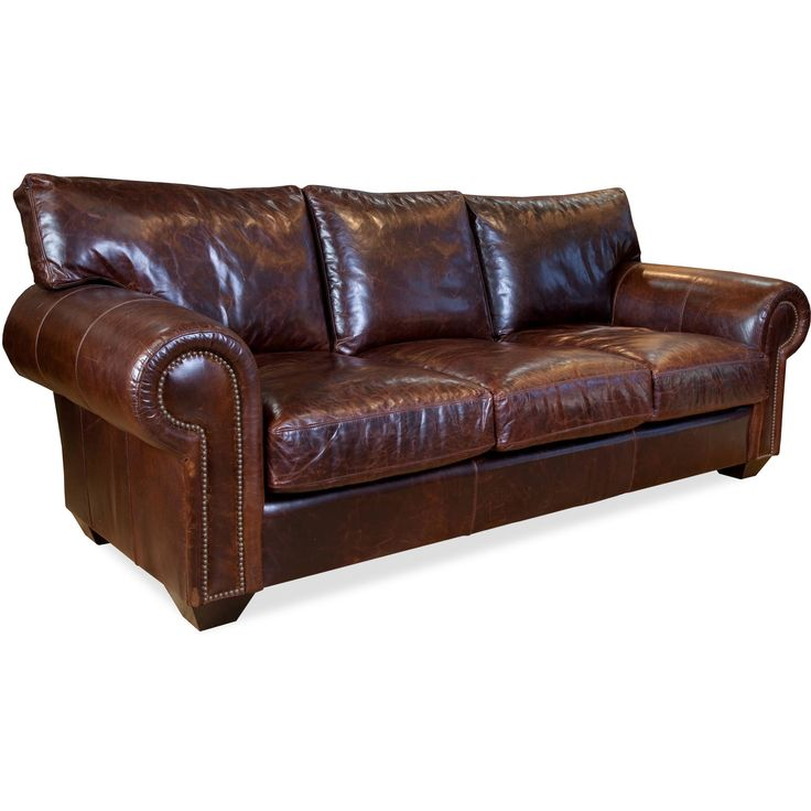 Cambridge Italian Leather Sofa | Overstock.com Shopping   The Best Deals On  Sofas U0026