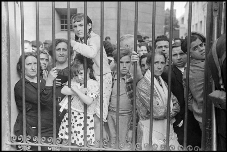 Gerda Taro. Guerra en España.