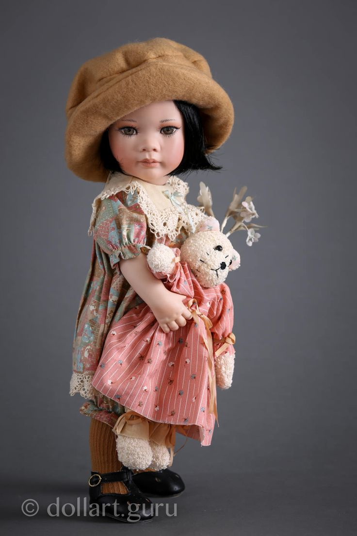 Ivorie. Фарфоровая кукла Линды Стил | Doll Art Guru