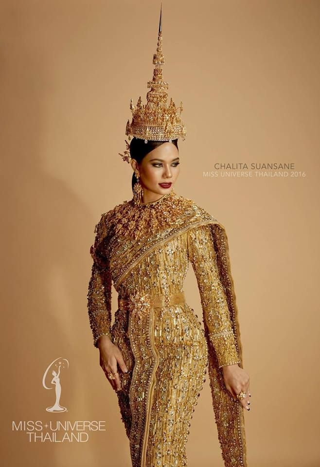 national costume: Miss thailand Universe 2016