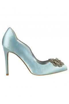 Nine West Açık Mavi Kadın Klasik Topuklu Ayakkabı