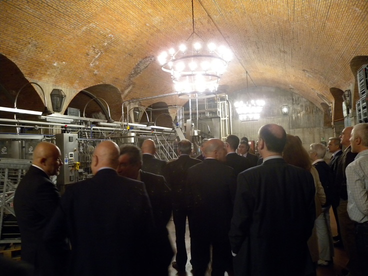 #Solidworks #Ceo #Event  - Visit at the wine cellar Cantina Berlucchi