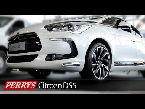 Citroen DS5 HDi diesel hybrid 4 Review (2014) - YouTube