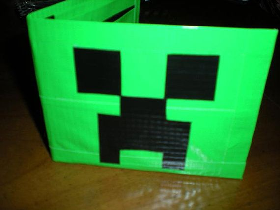 favors - make duct tape creeper wallets