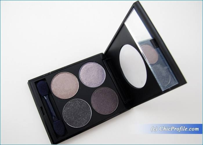 MustaeV Smoky Quad Eyeshadow Palette Review, Swatches, Photos