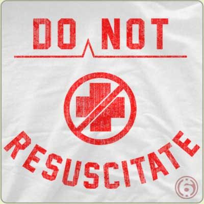 wit do not resuscitate and scholar The uncertainty, confusion and general lack of knowledge about do not resuscitate (dnr) orders and advance directives has created a slippery slope for all, and especially difficult for those in oncology.