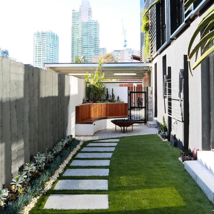The Block Sky High   Ground Floor apartment final reveal   Madi and Jarrod's northern courtyard
