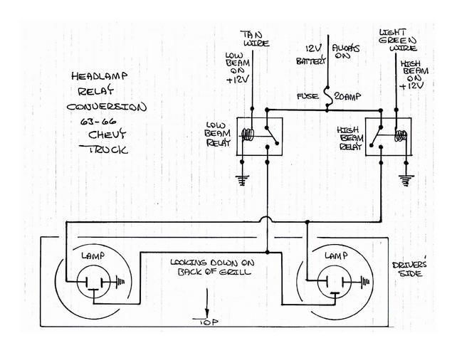 One More Headlight Relay Thread The 1947 Present Chevrolet Gmc Truck Message Board Network Gmc Truck Chevrolet Relay