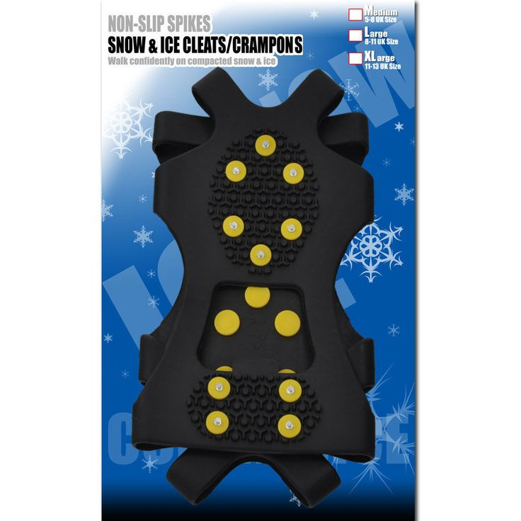Snow Grips-Ice Grips-Snow-Ice-Grips-Winter-Climbing-Hiking-Travel-Shoes-Cleats-S-M-L-XL