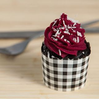 Red Velvet Cupcake. Wilder and Hunt via Candy Coloured Lady