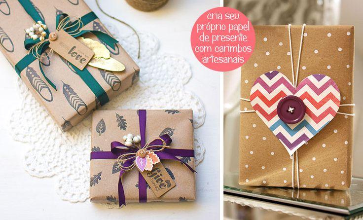 Inspirao do Dia Caprichando na embalagem dos presentes