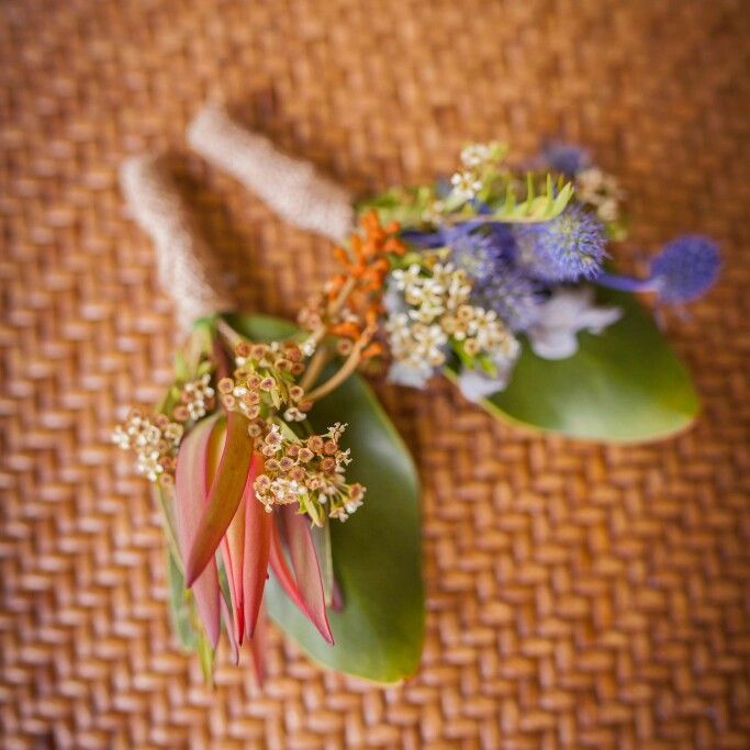 Australian Native Buttonholes. Flora & Fauna Events