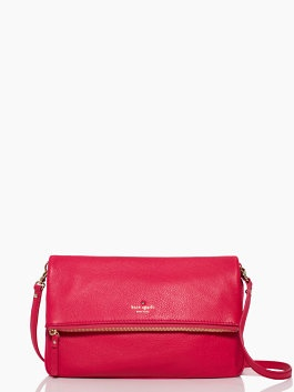 I'm going to end up biting the bullet on a leather Kate Spade bag some day