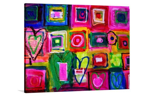 LOVING KISSES [289371084759] - $399.00 | United Artworks | Original art for interior design, buy original paintings online