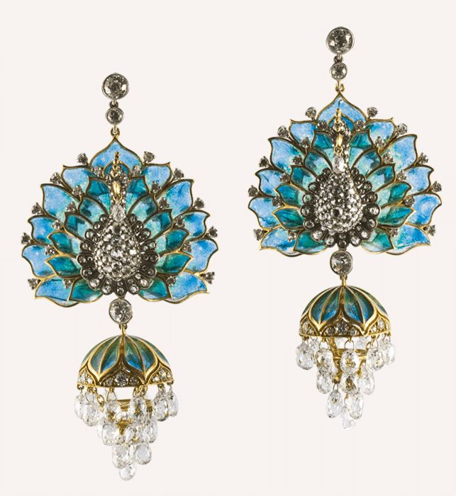 Peacock Earrings | Munnu The Gem Palace