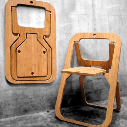 """Klappstuhl """"Desile"""" aus der Vange Collection des belgischen Kreativteams von ABV"""