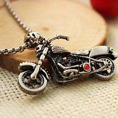 z&harley moda X® pingente de aço motocicleta colar