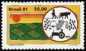 Sello: Productivity (Brasil) (Agricultural development) Mi:BR 1807,Yt:BR 1461,RHM:BR C-1183