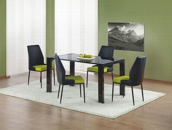 Kevin to fantastyczny stół, jest nie tylko praktyczny ale stanowić będzie również niezwykłą ozdobę naszego mieszkania. Blat stół ma wykonany ze szkła hartowanego do wyboru w dwóch kolorach.