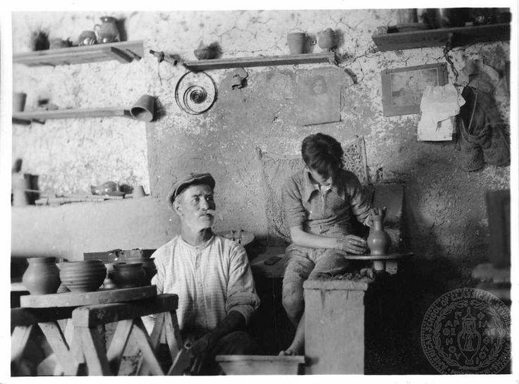 Dorothy Burr Thompson Αγγειοπλάστες στο Χαλάνδρι Αττικής το 1937..