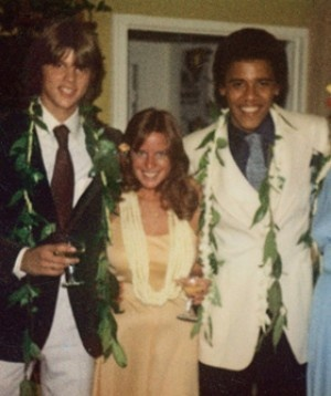 Obama's high school prom photo from 1979