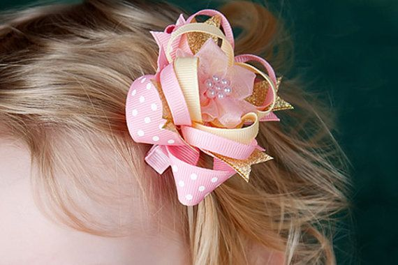 Hair Bow Collection 4 e-books How to make bows by BirdsongPatterns