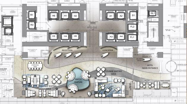 5 star hotel lobby design google 39 da ara hotels hotel for Design hotel 4 stars