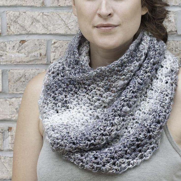 Mejores 156 imágenes de Crochet scarves & cowls en Pinterest ...