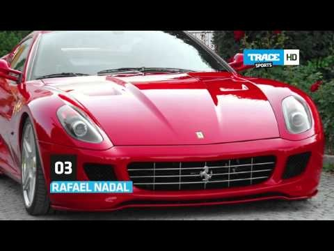 Find which athlete's got the most expensive car