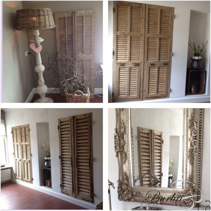 Oude luiken - Oude bouwmaterialen - Burbri