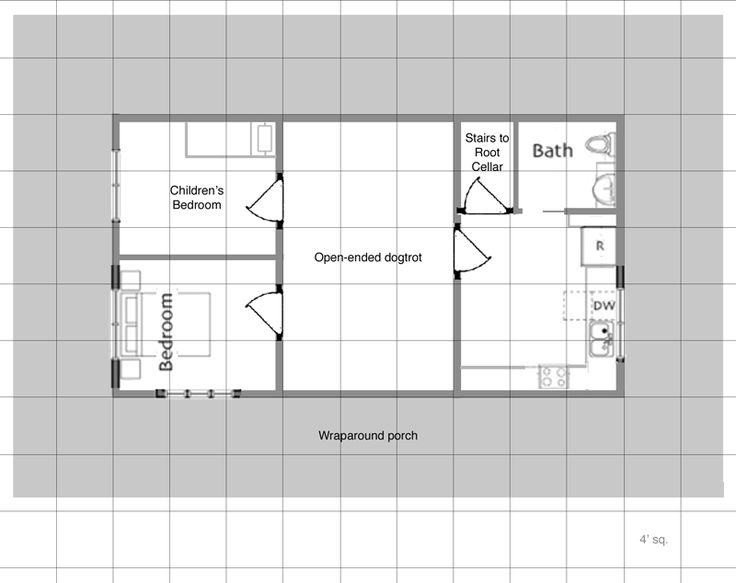 House Designs Under 500 Square Feet